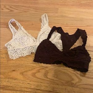 SOLD {Aerie} Size Small Bralette Bundle